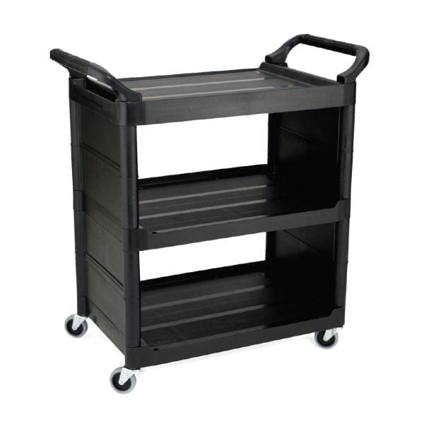 Rubbermaid Utility Cart Black-0
