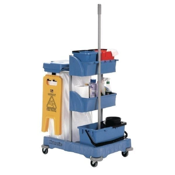 Numatic Janitorial Cart (Direct)-0