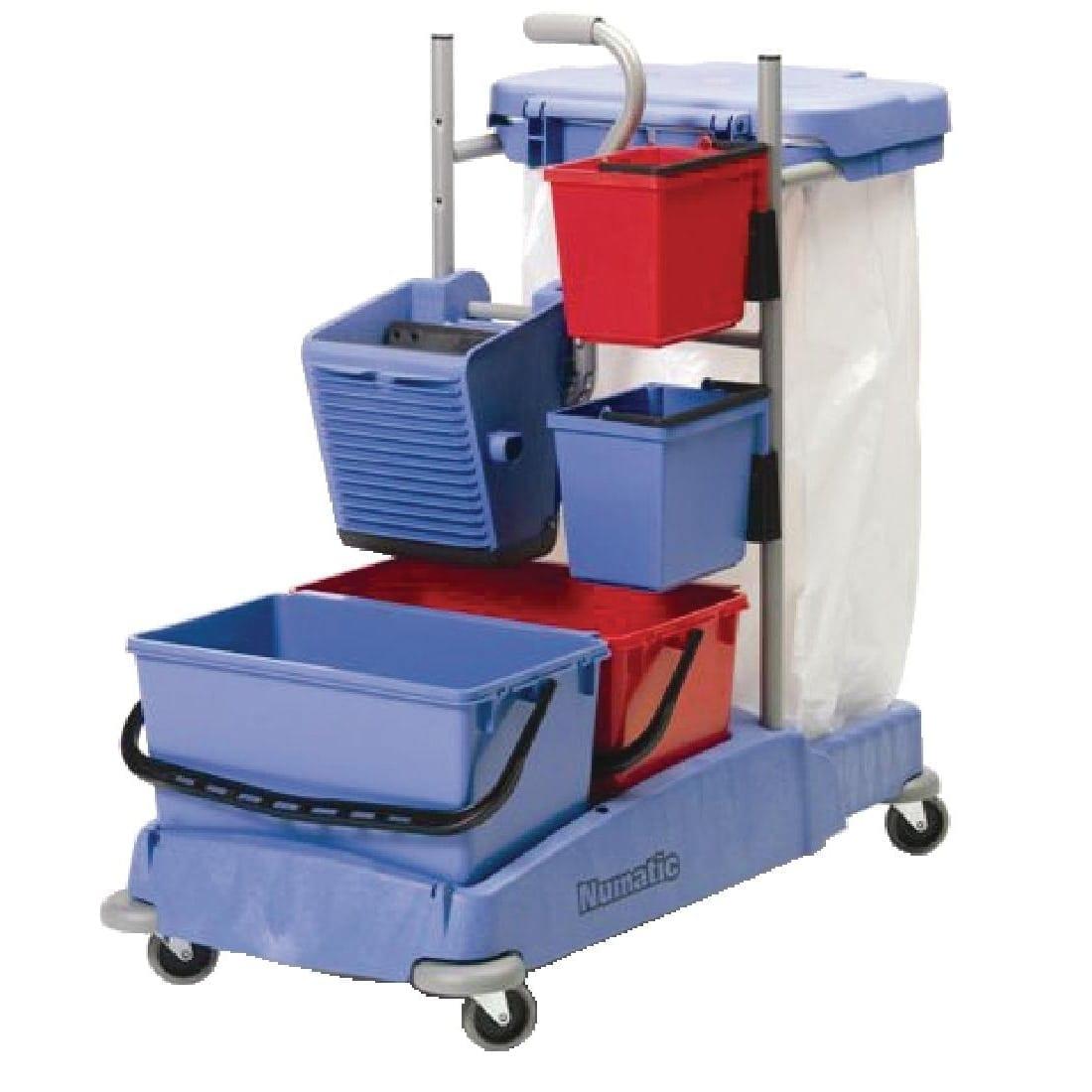 Numatic Janitorial Cart VCN1404 (Direct)-0
