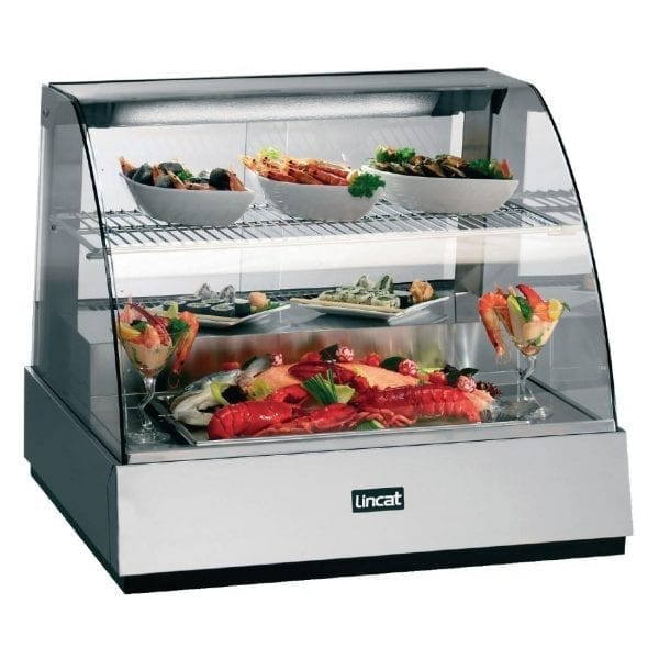 Lincat Seal Refrigerated Food Display Back Service Rear 665Hx785Wx750D (Direct)-0