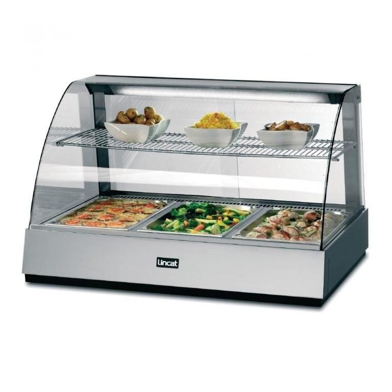 Lincat Seal Heated Food Display S/S Back Service - 665Hx1085Wx750D (Direct)-0