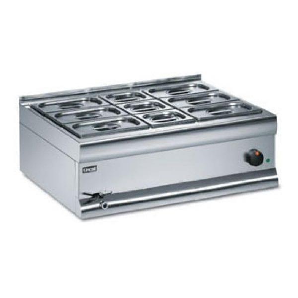Lincat Bain Marie Dry Heat 6x1/4 & 3x1/6 - 290Hx750Wx600mmD (Direct)-0