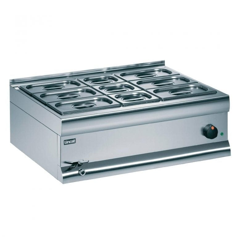 Lincat Bain Marie Wet Heat 6x1/4 & 3x1/6 - 290Hx750Wx600mmD(Direct)-0