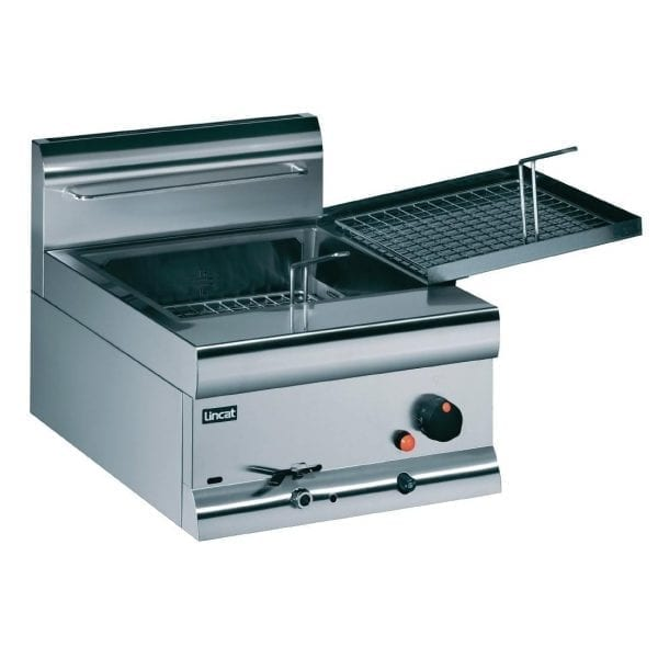 Lincat Doughnut Fryer - Prop Gas Side Shelf 2 Fry Trays 425Hx450Wx600D (Direct)-0