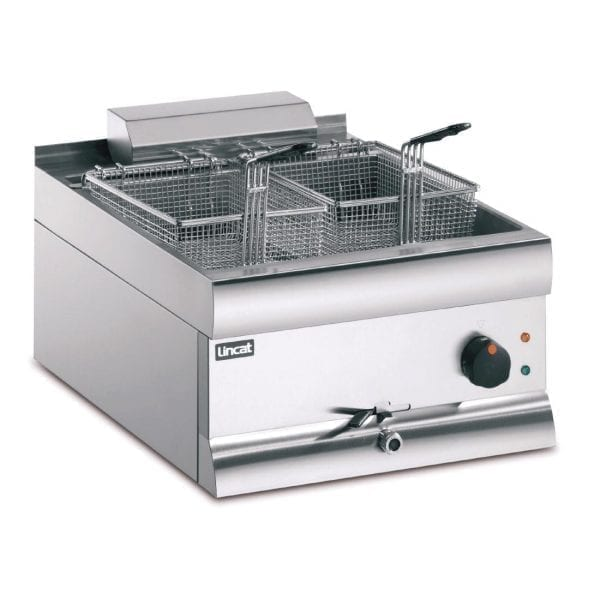 Lincat Electric Counter Top Fryer Single Tank 2 Baskets 6kW (Direct)-0