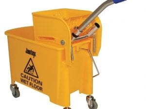 Mop Wringer & Bucket Yellow - 20Ltr