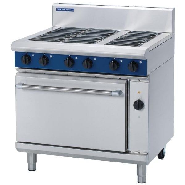 Blue Seal Evolution 6 Burner Convection Oven Electric - 900mm (Direct)-0