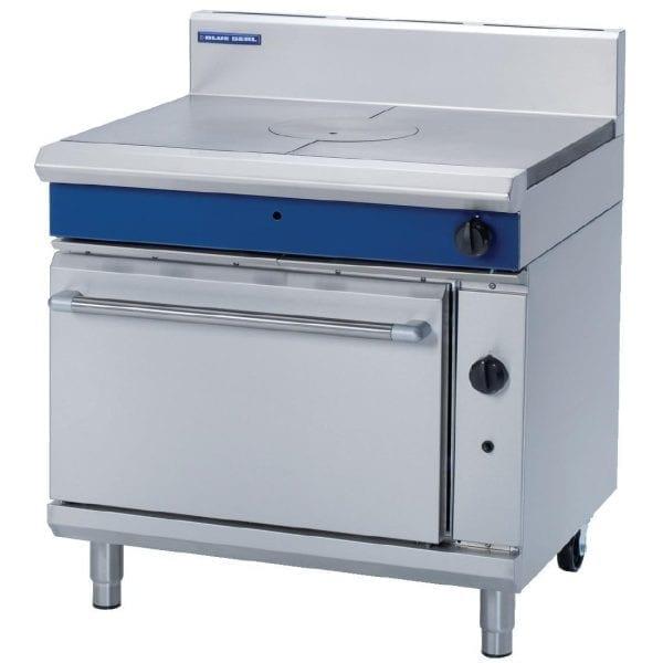 Blue Seal Evolution Target Top Static Oven LPG - 900mm (Direct)-0