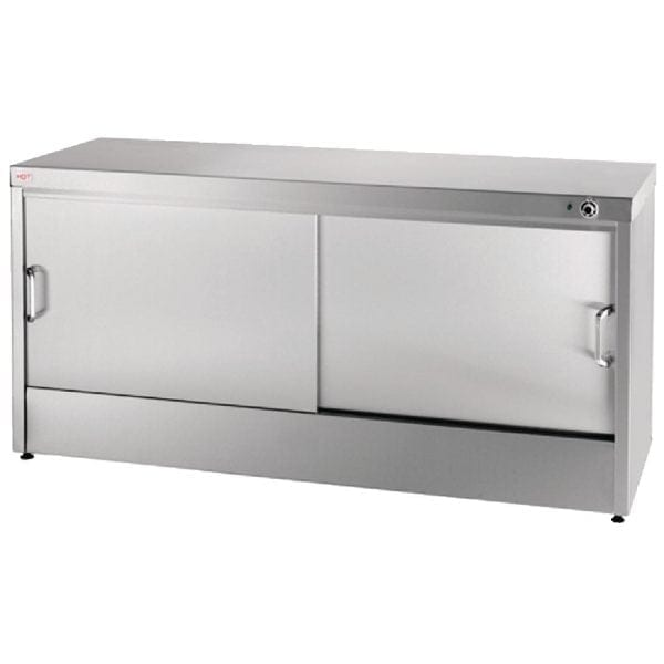 Buffalo Hot Cupboard Plain Top - 1420mm-0