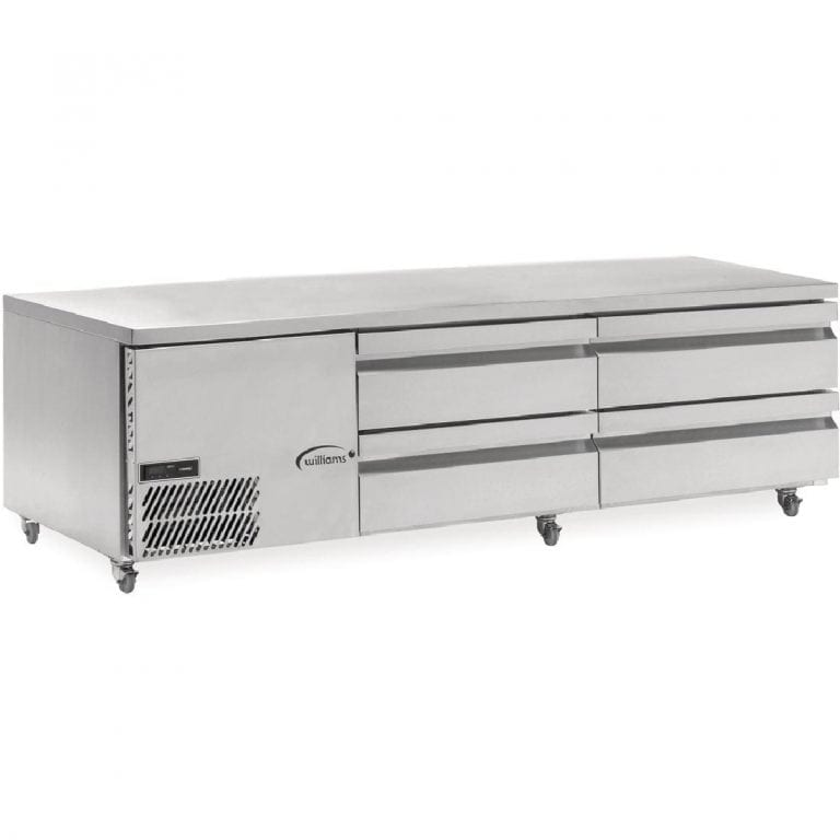Williams Underbroiler Counter Refrigerator - H546 x W1962 x D782mm (Direct)-0