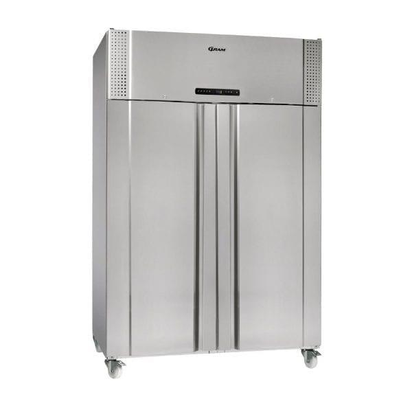 Gram Plus K1400 RSH C10N 2 Door 1400Ltr Cabinet Fridge (StSt Ext Alu In)(Direct)-0
