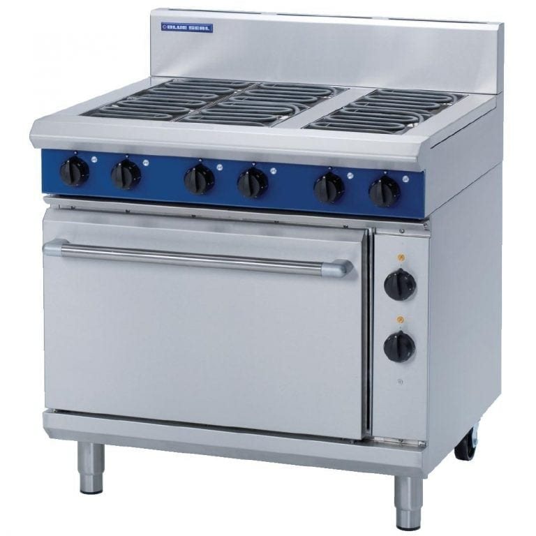 Blue Seal Evolution 6 Burner Static Oven Electric - 900mm (Direct)-0
