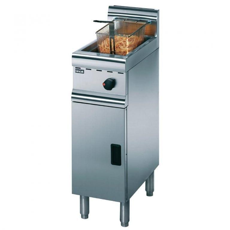 Lincat Silverlink 600 Gas Single Fryer - NAT (Direct-0