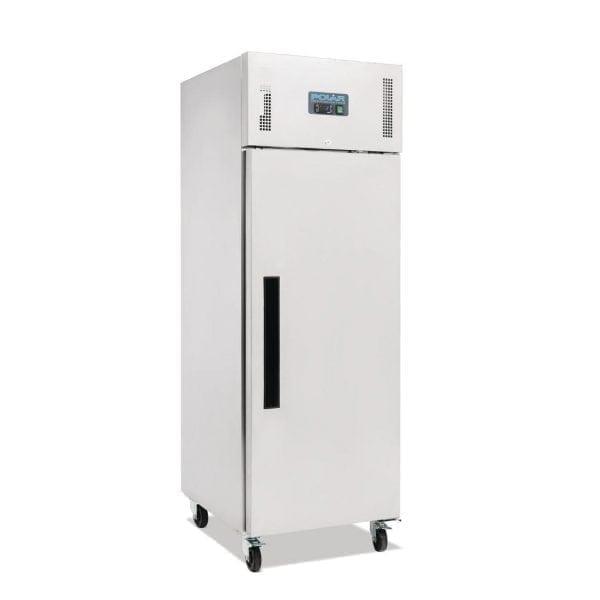 Polar Gastro REFRIGERATOR Single Door Upright St/St - 600Ltr (UK)-0