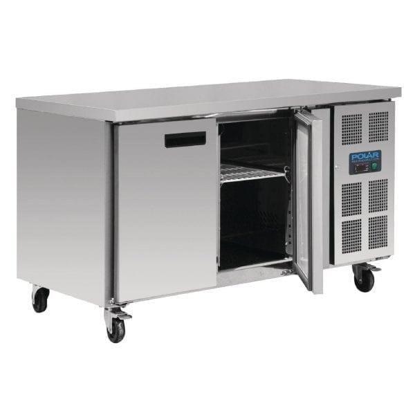 Polar Counter Gastro FREEZER 2 Doors (UK)-0