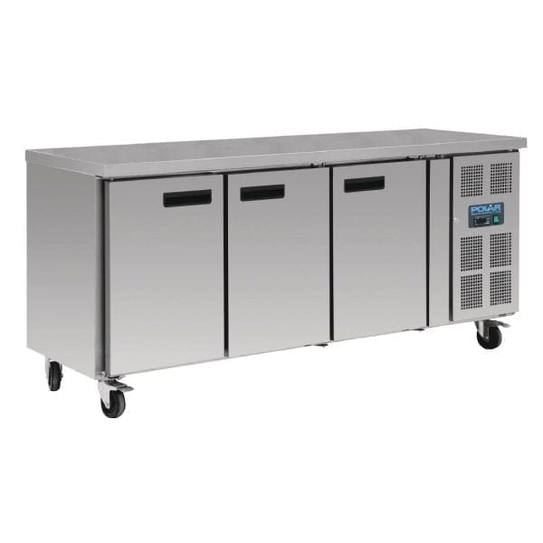 Polar Counter Gastro FREEZER 3 Doors - 417Ltr (UK)-0