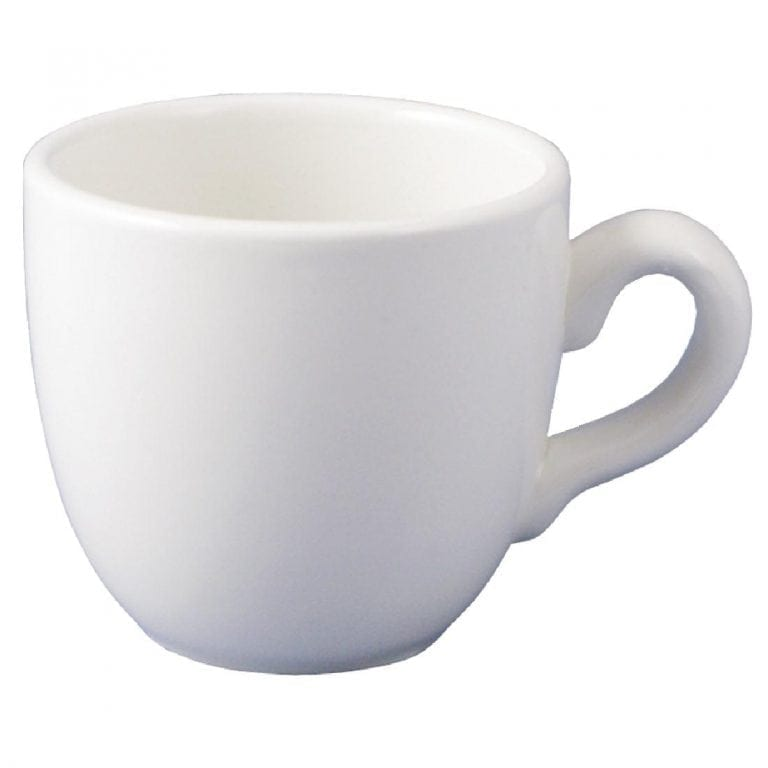 Dudson Classic White After Dinner Cup (Fits GC418) - 9.5cl 3 1/3oz (Box 36)-0