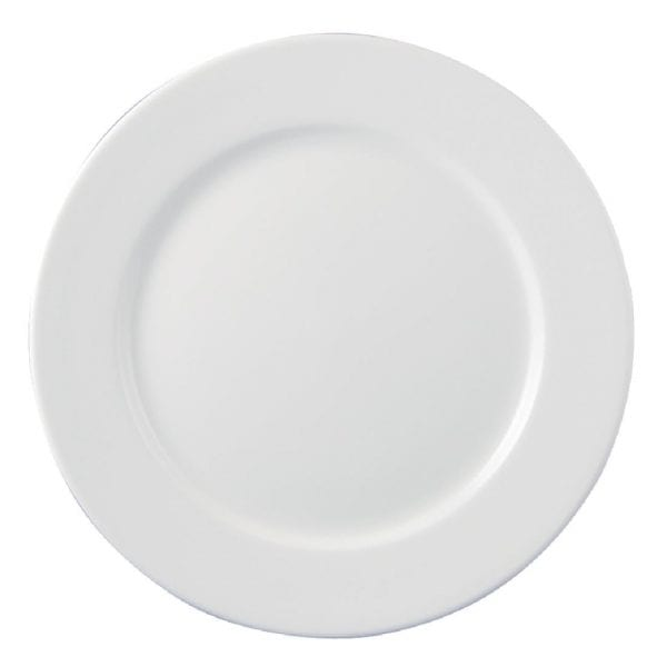 "Dudson Classic White Plate - 7"" 18cm (Box 36) (Direct)-0"