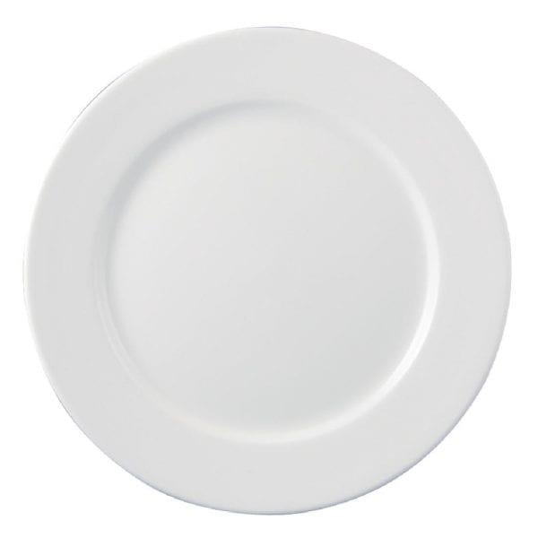 "Dudson Classic White Plate - 23cm 9"" (Box 24) (Direct)-0"