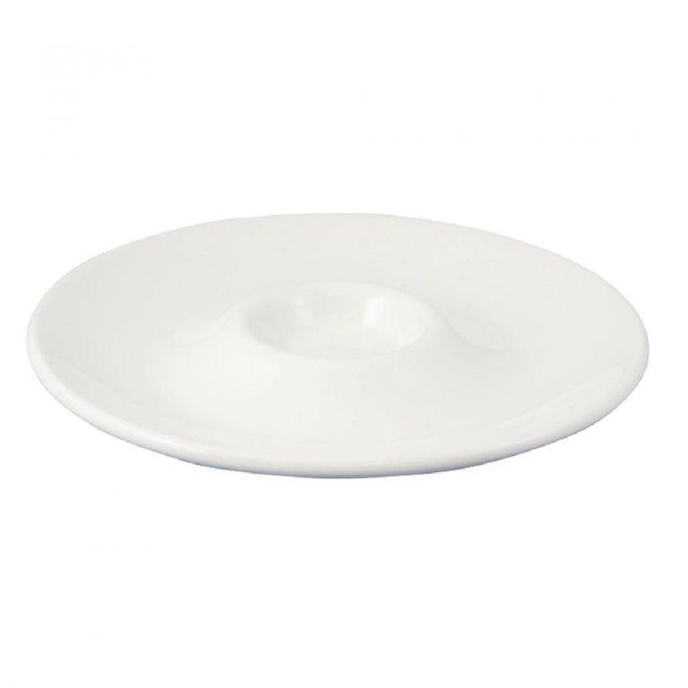 "Dudson Classic White Dip Plate - 11"" 27.9cm (Box 12) (Direct)-0"