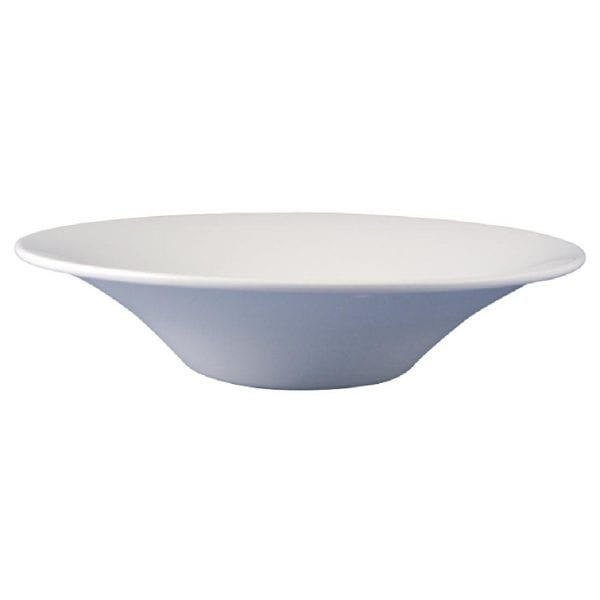 "Dudson Classic White Bowl - 30.5cm 12"" (Box 12) (Direct)-0"