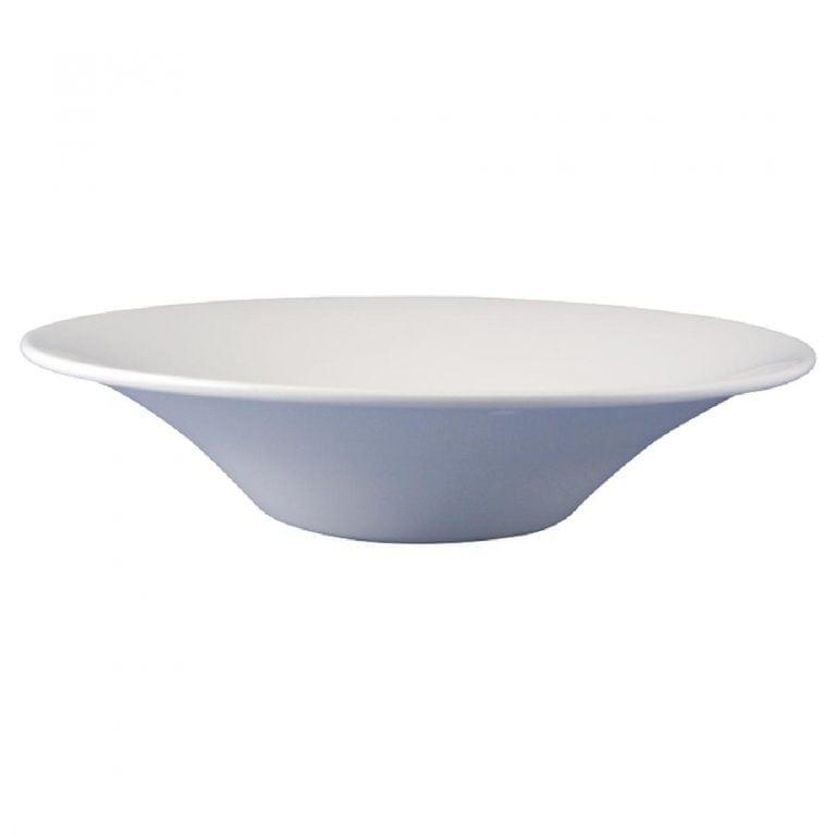 "Dudson Classic White Bowl - 30.5cm 12"" (Box 12) (Direct)-0"