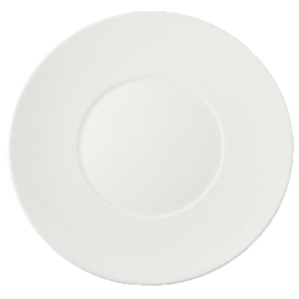 "Dudson Flair Profile Plate (small well)* 11 3/8"" 29.0cm (Box 12)-0"