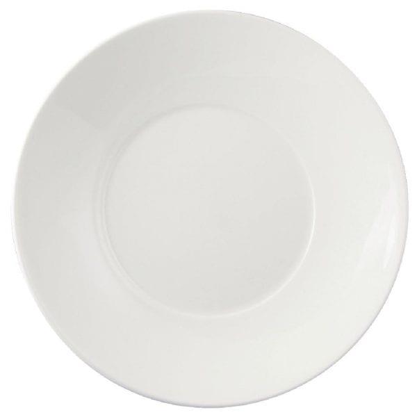"""Dudson Flair Deep Plate Round - 240mm 9 1/2"""" (Box 24)-0"""