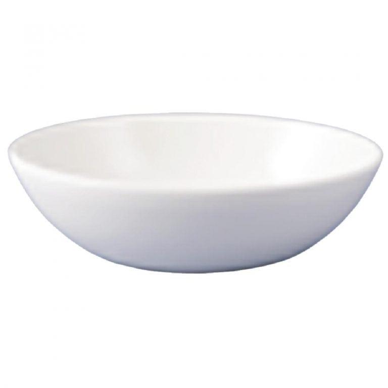 "Dudson Flair Deep Oval Plate - 267mm 10 1/2"" (Box 12)-0"
