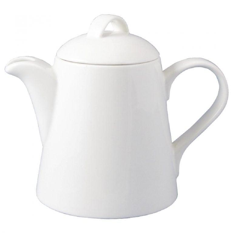 Dudson Classic White Beverage Pot - 100cl 35 1/4oz (Box 6)-0
