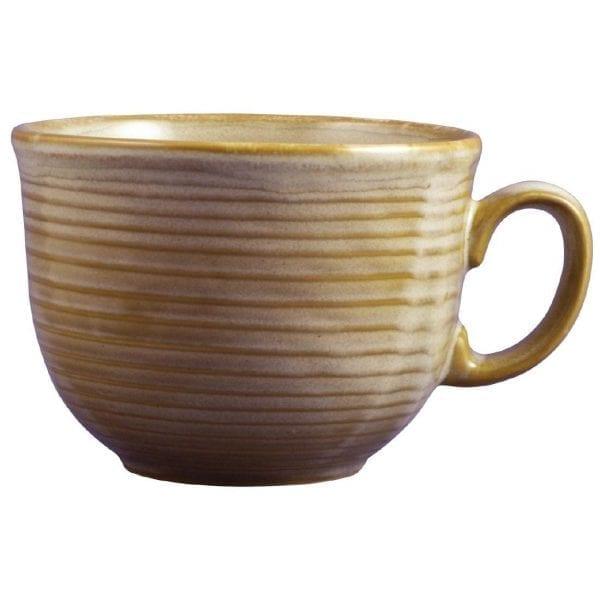 Dudson Evolution Sand Cafe Au Lait Cup Fits 100R - 10oz 28cl (Box 18) (Direct)-0