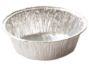 Foil Pie Tin - 100x25mm (Sleeve 250)-0
