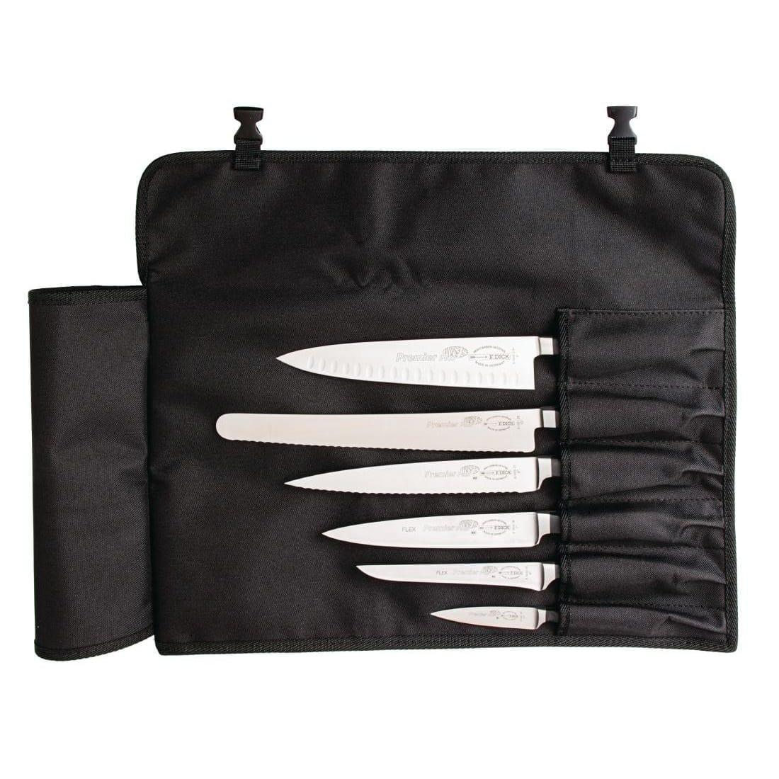 Dick Textile Roll Bag Black - 6 Piece 500(L)x430(W)mm-0