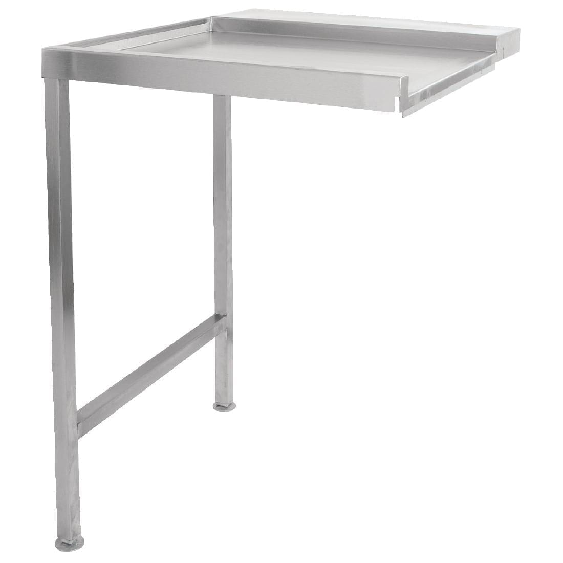 Classeq Pass Through Dishwasher Exit Table 600mm Left Hand (Direct)-0