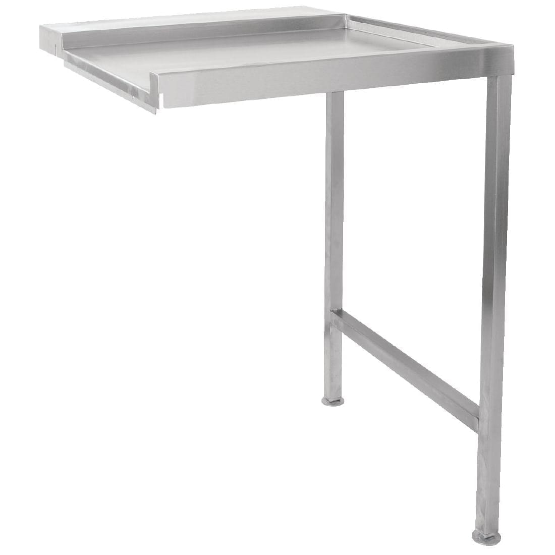 Classeq Pass Through Dishwasher Exit Table 600mm Right Hand (Direct)-0