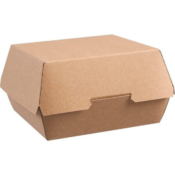 Kraft Natural Burger Boxes Large (Case 250)