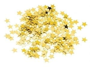 Gold Star Confetti (Case 12)-0