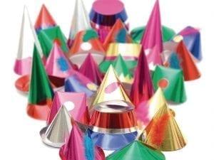 Starshine Adult Party Hats (Box 144)-0