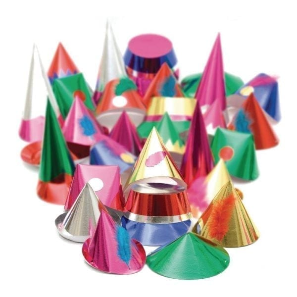 Starshine Adult Party Hats (Box 144)-0