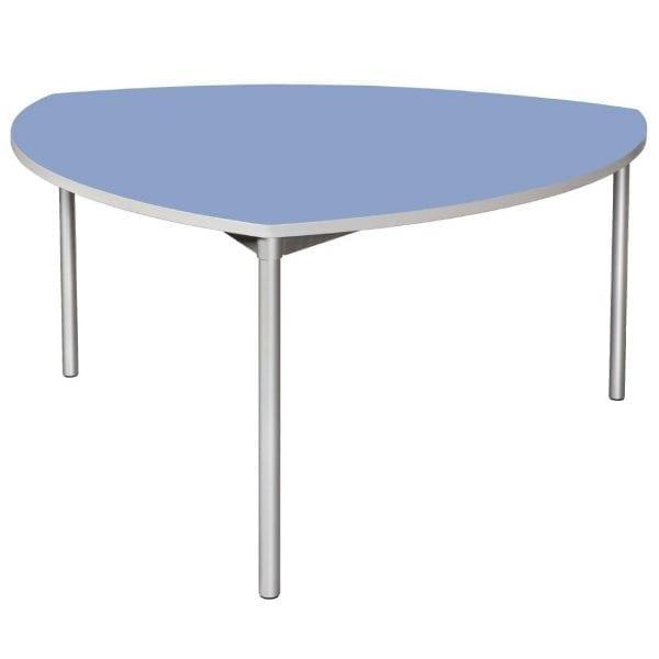 Enviro Indoor Dining Table 1500mm Shield 710mmh (Campanula Blue) (Direct)-0