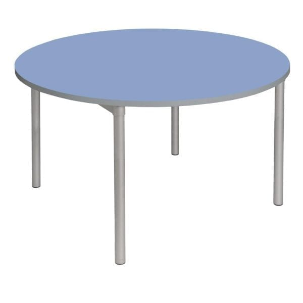 Enviro Indoor Dining Table 900mm Round 710mmh (Campanula Blue) (Direct)-0