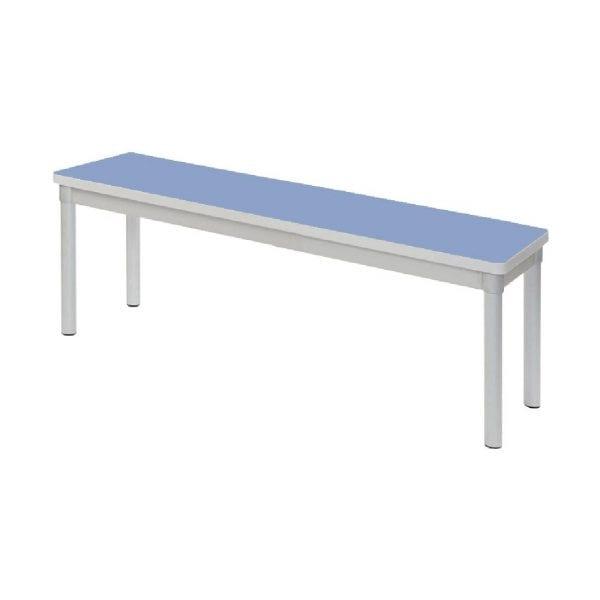 Enviro Indoor Dining Bench 1200x330x430mmh (Campanula Blue) (Direct)-0