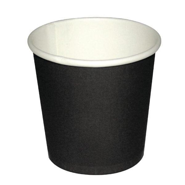 Fiesta Espresso Cups Single Wall Black - 114ml (4oz) (Box 1000)-0