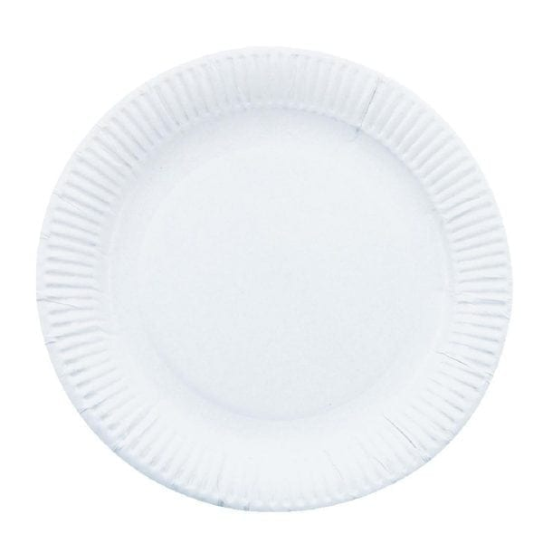 """Basic Paper Plate - 7"""" (Pack 250)-0"""