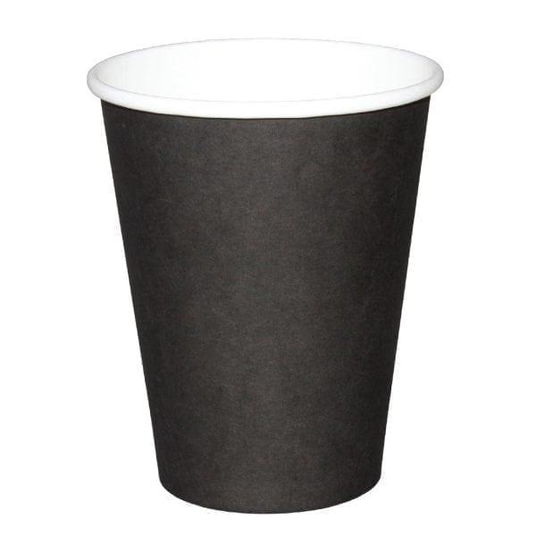 Fiesta Hot Cups Single Wall Black - 228ml (8oz) (Sleeve 50)-0