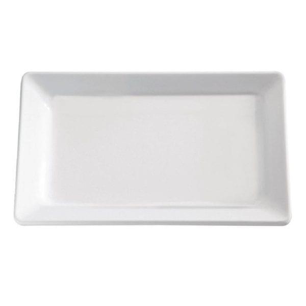Pure Tray Melamine White - GN 2/4-0