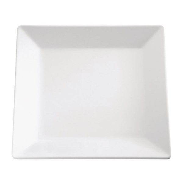 Pure Square Tray Melamine White - 510x510mm-0
