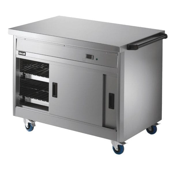 Lincat Panther Mobile Hot Cupboard with Plain Top (Direct)-0
