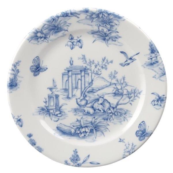 "Churchill Vintage Prints Prague Toile Tea Plate - 170mm 6 5/8"" (Box 6) (Direct)-0"