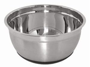 Vogue Mixing Bowl St/St with Silicone Base - 5Ltr-0